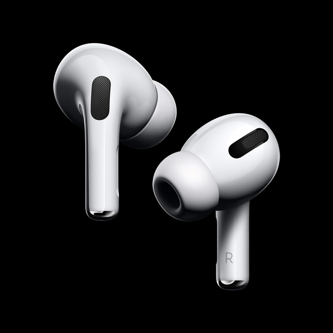 Retina apple airpods pro new design 102819