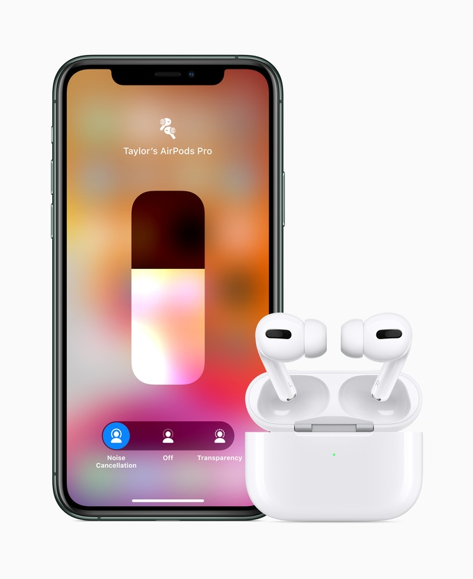 Retina apple airpods pro iphone11 pro 102819