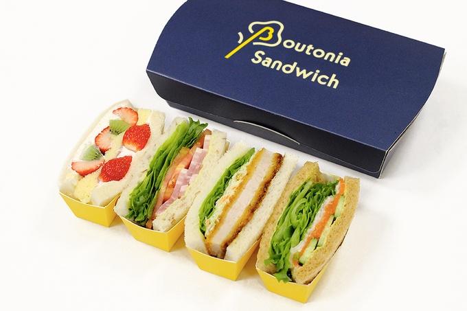 Retina boutonia sandwich